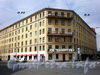 Рижский пр., д. 23 / ул. Циолковского, д. 3. Бывший доходный дом. Общий вид здания. Фото июль 2009 г.