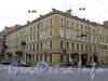 Лермонтовский пр., д. 9 (левая часть) / пр. Римского-Корсакова, д. 55. Бывший доходный дом. Общий вид здания. Фото август 2009 г.