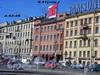 Лиговский пр., д. 41 (левая часть). Здание гостиницы «Октябрьская». Общий вид. Фото 2004 г.