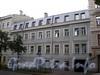 Английский пр., д. 44. Бывший доходный дом. Фасад здания. Фото август 2009 г.