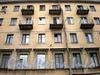 Бол. Сампсониевский пр., д. 49 / ул Смолячкова, д. 10. Фрагмент фасада здания по проспекту. Фото март 2009 г.