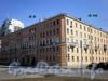 Большеохтинский пр., д. 5 / Конторская ул., д. 10. Общий вид здания. Фото апрель 2009 г.