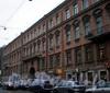 Владимирский пр., д. 3. Доходный дом П. И. Лихачева. Фрагмент фасада здания. Фото февраль 2009 г.