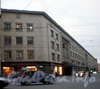 Вознесенский пр., д. 44-46 / Садовая ул., д. 54. Дом легкой промышленности. Фасад по проспекту. Фото март 2009 г.