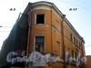 Загородный пр., д. 3 / Щербаков пер., д. 17. Дом Рогова. Угловая часть здания. Фото апрель 2009 г.