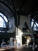 Заневский пр., д. 73. Зал ожидания Ладожского вокзала. Фото апрель 2009 г.