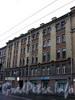 Малый пр., В.О., д. 35. Бывший доходный дом. Фасад здания. Фото октябрь 2009 г.