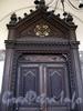 Невский пр., д. 22-24. Немецкая лютеранская церковь св. Петра. Дверь портала. Фото июль 2009 г.
