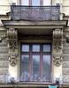 Невский пр., д. 66. Доходный дом П. И. Лихачева. Балкон. Фото апрель 2009 г.