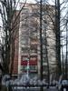 Пр. Мориса Тореза, д. 38, корп. 2. Общий вид жилого дома. Вид с Институтского проспекта. Фото март 2009 г.