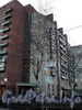 Пр. Мориса Тореза, д. 38. Общий вид жилого дома. Фото март 2009 г.