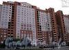 Комендантский пр., дом 36.район озера Долгое, квартал 27а, корпуса 28, 29, 29А, 30.Индивидуальный 16-ти этажный жилой дом.Фото с сайта m4.spb.ru.