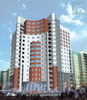 Комендантский пр., дом 42, корп. 1. МФЖК с объектами социальной инфраструктуры и многоэтажными гаражами.Фото с сайта «Архитектурная студия M4».