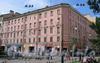 Большой пр., В.О., д. 23 / 7-я линия В.О., д. 24. Доходный домжерновых (Жирновых). Общий вид здания. Фото август 2009 г.