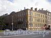 Большой пр., В.О., д. 26 / 8-я линия В.О., д. 19 (левая часть). Доходный дом Г. Е. Маковкиной. Общий вид здания. Фото август 2009 г.