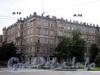 Большой пр., В.О., д. 32 / 11-я линия В.О., д. 12. Бывший причтовый дом Андреевского собора. Общий вид здания. Фото август 2009 г.