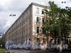 Большой пр., В.О., д. 34 / 12-я линия В.О., д. 5. Здание 1-го реального училища. Общий вид здания. Фото август 2009 г.