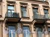 Большой пр., В.О., д. 35. Дом Е. Д. Калина. Балконы. Фото август 2009 г.
