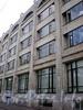 Большой пр., В.О., д. 36. Здание ЦКБ «Айсберг». Фрагмент фасада здания. Фото август 2009 г.