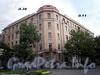 Большой пр., В.О., д. 38 / 14-я линия В.О., д. 11. Доходный дом Ю. К. Додоновой. Общий вид здания. Фото август 2009 г.