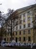 Большой пр., В.О., д. 42. Жилой дом. Фасад здания. Фото октябрь 2009 г.