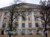 Большой пр., В.О., д. 42. Жилой дом. Фрагмент фасада здания. Фото октябрь 2009 г.