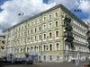 Большой пр., В.О., д. 43 / 12-я линия В.О., д. 7. Доходный дом Стандершельда. Общий вид здания. Фото август 2009 г.