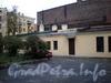 Большой пр., В.О., д. 44. Дворовый флигель. Фото октябрь 2009 г.