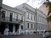 Большой пр., В.О., д. 48. Дом совета и богадельня лютеранской церкви св. Петра. Правый и средний корпуса. Фото октябрь 2009 г.