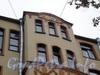 Большой пр., В.О., д. 52. Доходный дом Р. Э. Ведекина. Фрагмент правого эркера. Фото октябрь 2009 г.