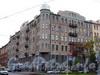 Большой пр., В.О., д. 54 / 19-я линия В.О., д. 14. Доходный дом X. Г. Борхова. Общий вид здания. Фото октябрь 2009 г.