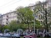 Большой пр., В.О., д. 56. Доходный дом X. Г. Борхова. Фасад здания. Фото октябрь 2009 г.