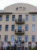 Большой пр., В.О., д. 56. Доходный дом X. Г. Борхова. Фрагмент фасада здания. Фото октябрь 2009 г.
