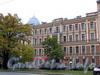 Большой пр., В.О., д. 60 / 21-я линия В.О., д. 10. Бывший доходный дом. Фасад здания по проспекту. Фото октябрь 2009 г.
