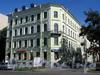 Большой пр., В.О., д. 63 / 18-я линия В.О., д. 17. Доходный дом Э. К. Мюнстера. Общий вид здания. Фото сентябрь 2009 г.