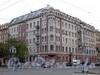 Большой пр. В.О., д. 64 / 22-я линия В.О., д. 5. Дом с мозаичной мастерской В. А. Фролова. Общий вид здания. Фото октябрь 2009 г.