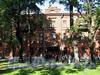 Большой пр., В.О., д. 71 / 21-я линия В.О., д. 12. Полицейский дом Васильевской части. Фасад здания по проспекту. Фото сентябрь 2009 г.