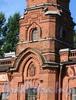 Большой пр. В.О., д. 73. Пожарное отделение Васильевской части. Фрагмент фасада с годом постройки. Фото сентябрь 2009 г.