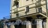 Большой пр. В.О., д. 87. Балкон. Фото сентябрь 2009 г.