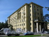 Большой пр. В.О., д. 89 / ул. Шевченко, д. 1. Вид на здание от Канареечной улицы. Фото сентябрь 2009 г.