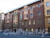 Большой пр. В.О., д. 92. Доходный дом Ю. П. Коллана. Фасад здания. Фото сентябрь 2009 г.