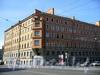 Большой пр. В.О., д. 93 / Весельная ул., д. 2. Бывший доходный дом. Общий вид здания. Фото сентябрь 2009 г.