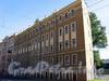 Большой пр. В.О., д. 96 (правая часть). Бывший доходный дом. Фасад здания. Фото сентябрь 2009 г.
