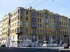 Большой пр. В.О., д. 97 / Гаванская ул., д. 2. Доходный дом Д. Ш. Каценеленбогена. Общий вид здания. Фото сентябрь 2009 г.