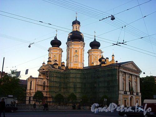 Собор иконы Владимирской Божьей Матери (Владимирский собор) на Владимирской площади. Фото июнь 2004 г.