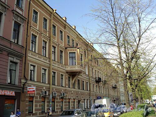 Клинский пр., д. 27 (правая часть). Фасад здания. Фото май 2010 г.
