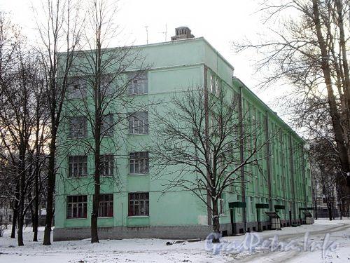 Морской проспект, дом 29. Общий вид здания. Фото декабрь 2009 г.