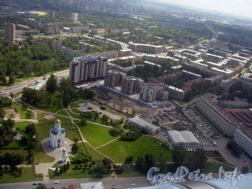 Так выглядел этот район до строительства делового комплекса «Санкт-Петербург Плаза». Фото 2007 года