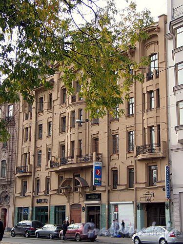 Кронверкский пр., д. 59. Фасад здания. Фото октябрь 2010 г.