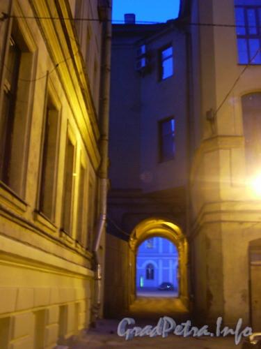 Лиговский пр. д.37, двор. Фото 2004 г.